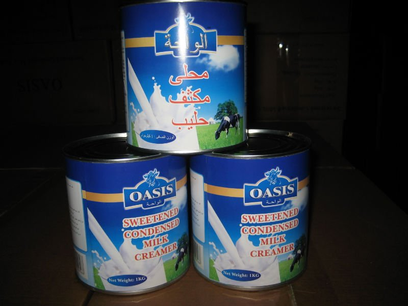 sweetened condensed milk 2 for sale