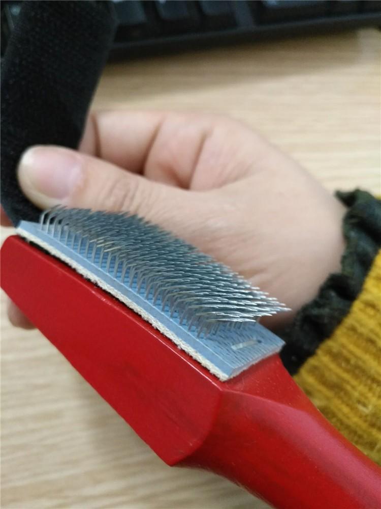 High Quality Promotion Custom Logo Wooden Shoe Brush Dance shoes Brush sale
