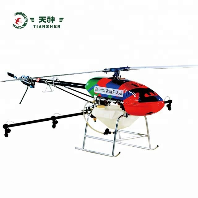 Professional helicopter aircraft drone payload 10KG drone agriculture drone sprayer in agriculture with Manual GPS Automatic for sale
