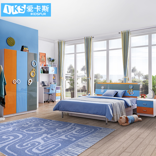 8106 promotional girls children furniture sets bedroom sets children For Sale