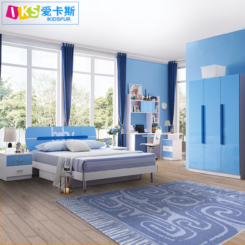 Alibaba price boy room bed room children furniture set with express For Sale