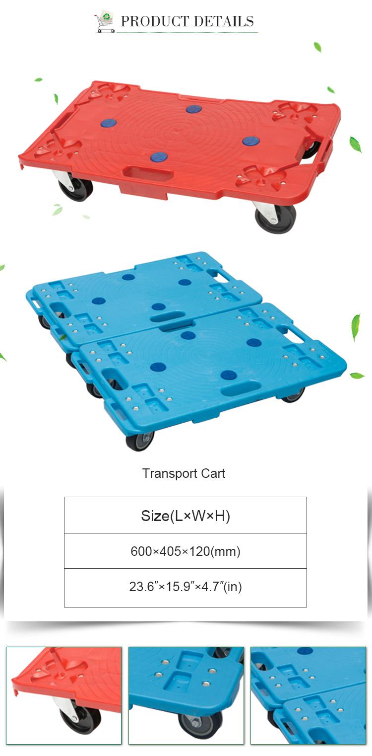 Best hand trolley Transport Flat Wagon Cart lightweight folding hand cart for sale
