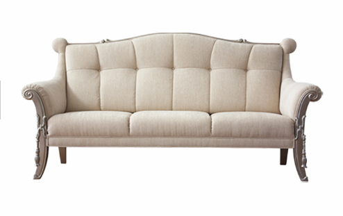 CLASSICAL Fabric hotel couch for sale