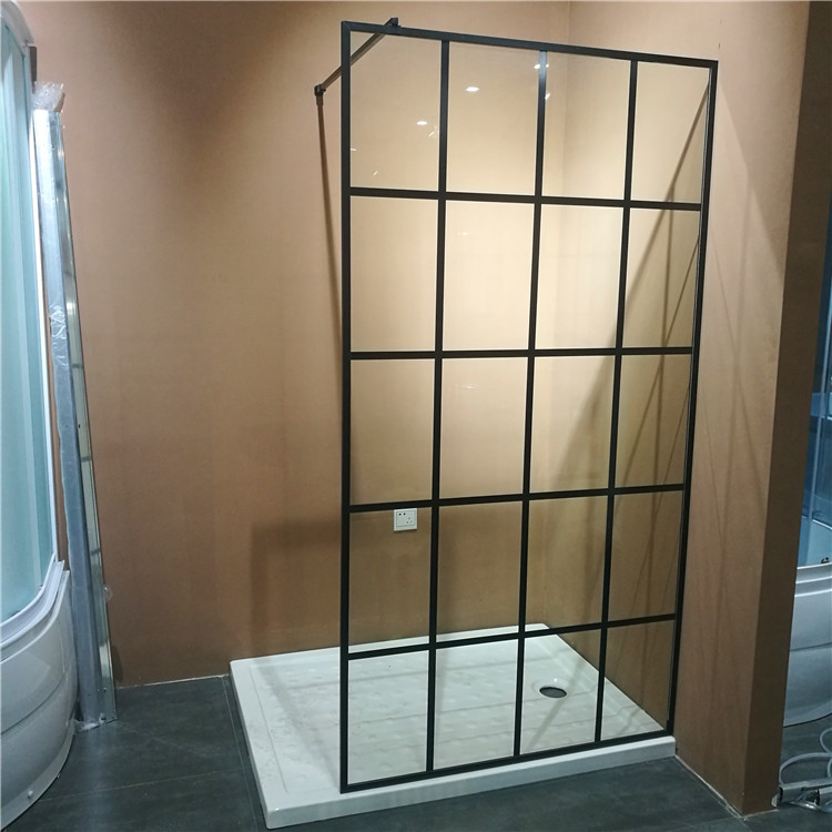 Bathroom Portable Frameless Glass Shower Door For Sale