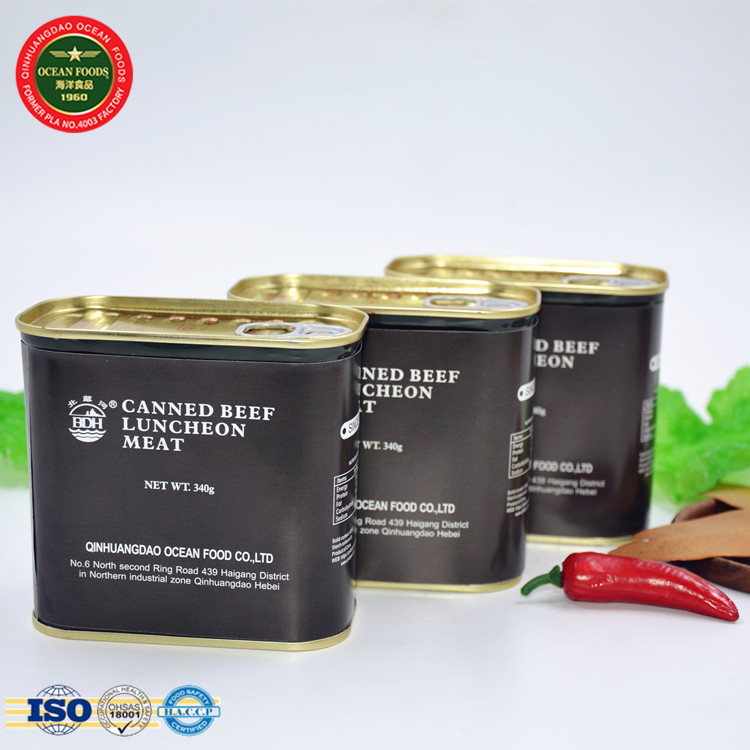 wholesale beef products canned food beef luncheon meat for sale