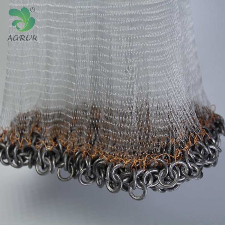 100% Nylon Mono Small Mesh Japanese Gill Net Fishing Net with Lead Chain for sale