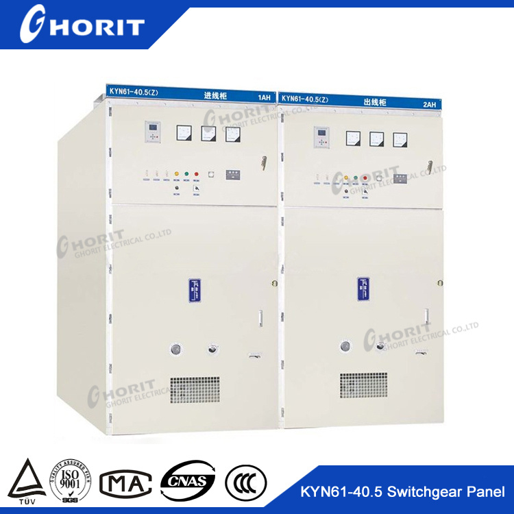 KYN61 -40.5 AC Metal-Clad Switchgear 35kv electrical switchboard panel for sale