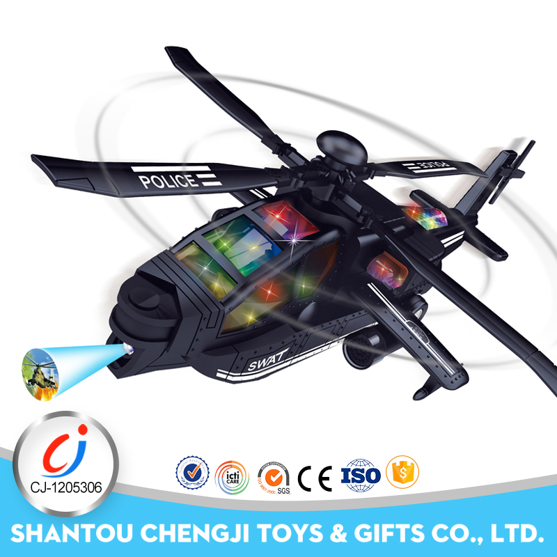New electric toy swat helicopter rc small aircraft with music light for sale