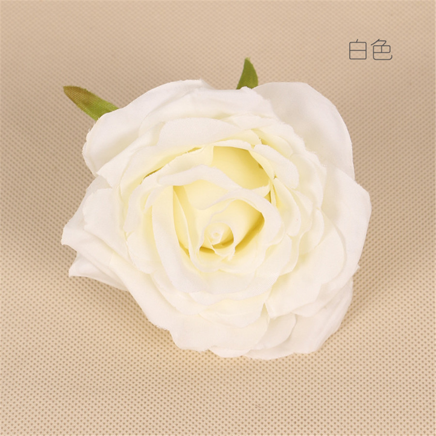 Wholesale DIY wedding flower wall customized peony colorful rose cheap artificial silk flower heads