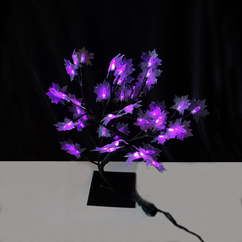 48L proveedor christmas lights artificial bonsai tree for ornaments