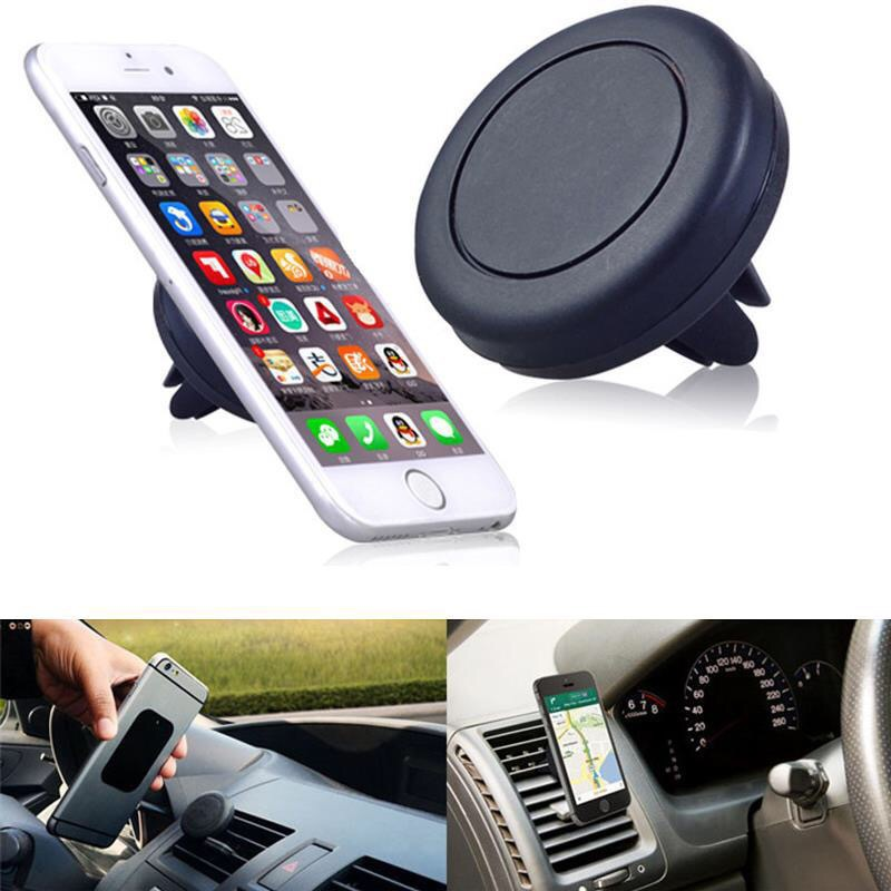Factory Price Universal 360 degree Mini Magnetic Silicone Car Air Vent Mount Cell Phone Holder for sale