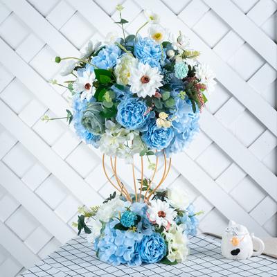 Custom Made Banquet Flower Ball Arrangement Decorative Centerpiece Flowers For Wedding Decoration