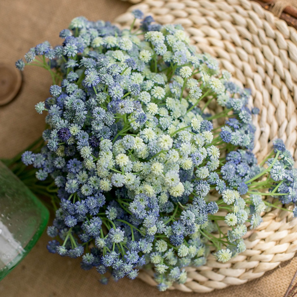 Natural Touch Artificial Baby Breath Plastic Flower For DIY Home Garden