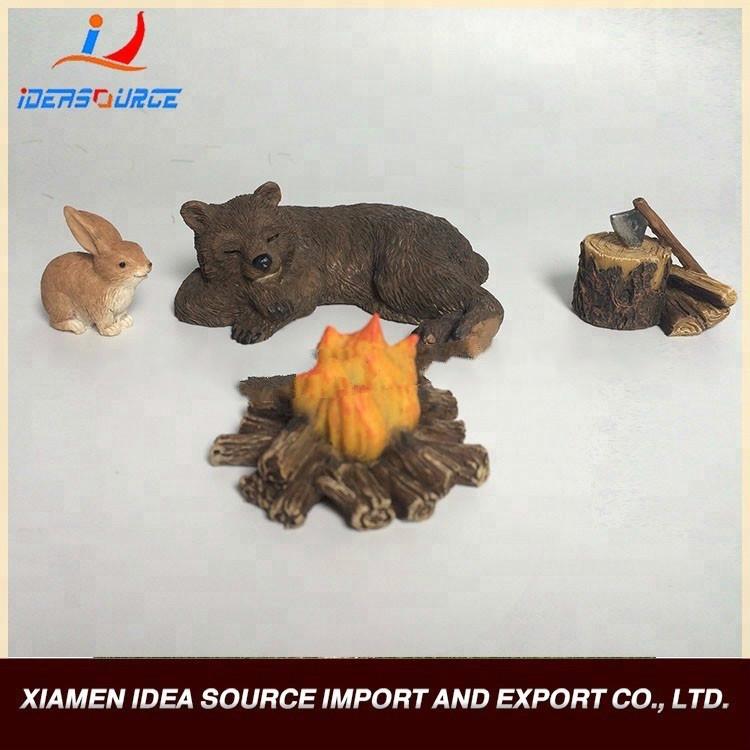 Any Style Custom Resin Crafts Resin Miniature Fairy Garden Kits sale