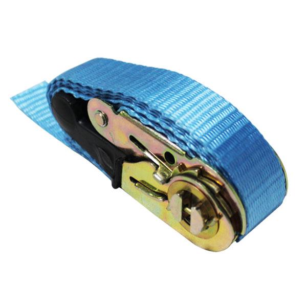 25mm width ratchet strap with rubber handle transport belt for safety transport sale