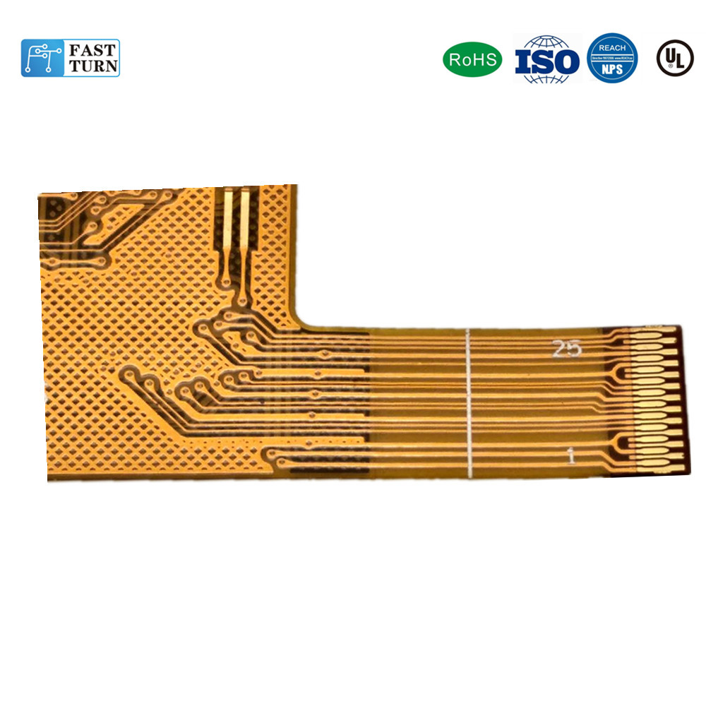 Customized flex connect pcb board for LCD Multilayer FPC cable for sale