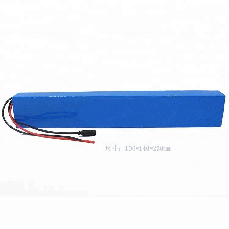 24v 10Ah down tube 250w motor electric bike PVC-packaged li-ion battery pack for sale