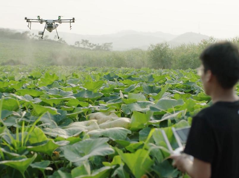 High atomization centrifugal nozzle 10L pesticide drone sprayer in india.sale