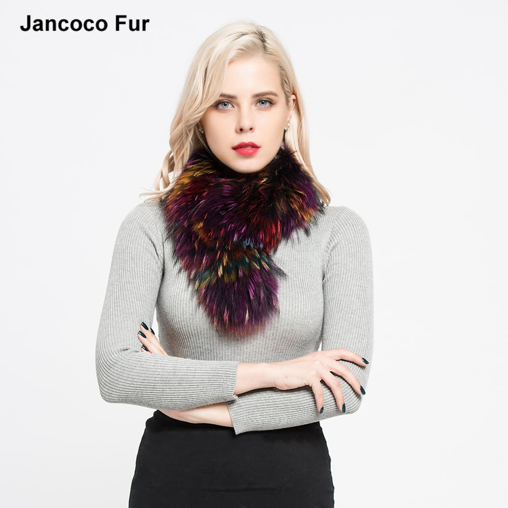 New Spring Winter 100% Real Raccoon Fur Scarf Fashion Women Shawls for sale