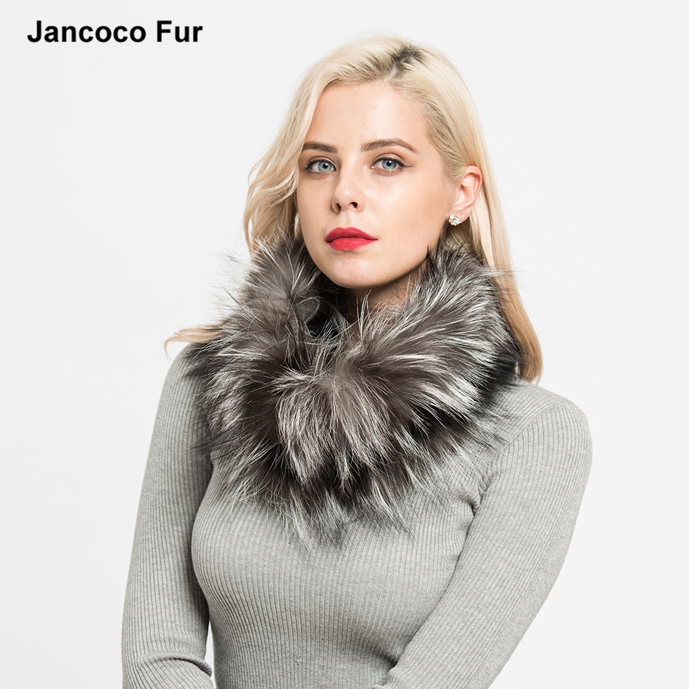 New Real Fox Fur Scarves Winter Thick Warm Top Quality Shawl Natural Fur Muffler for sale