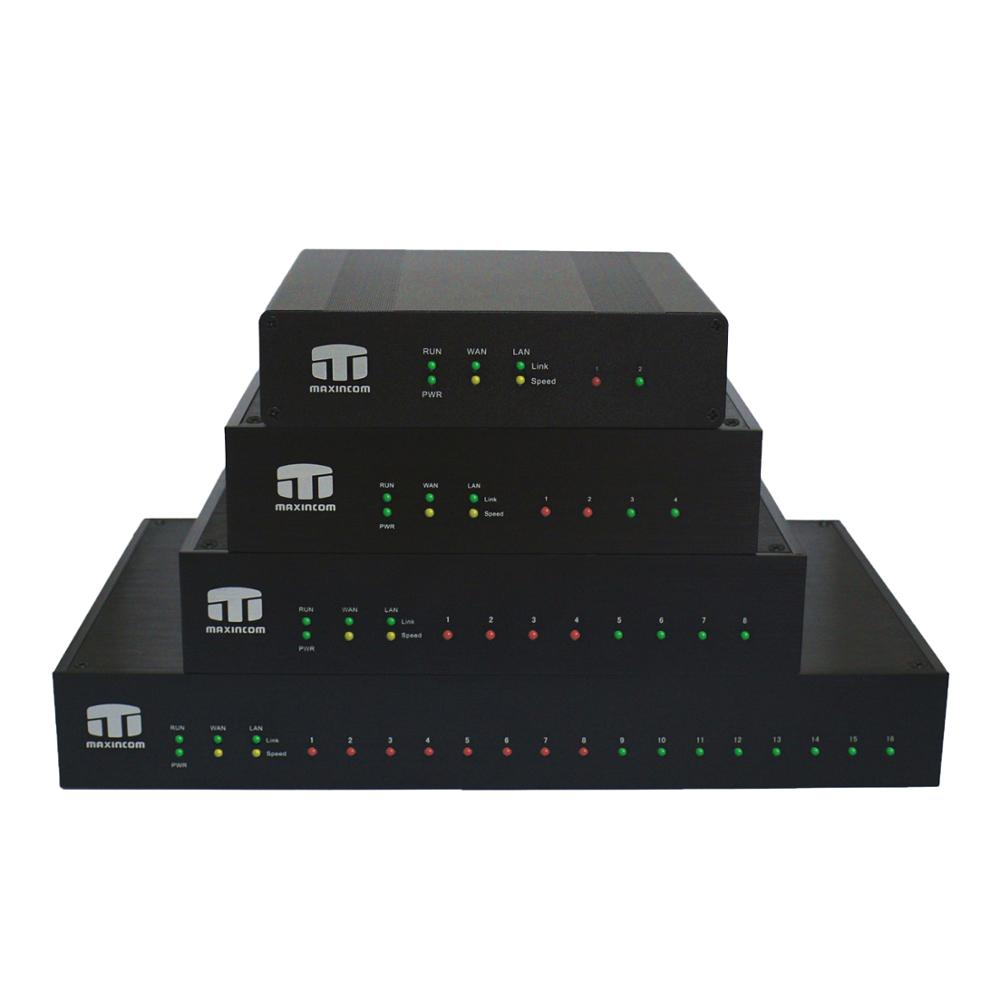 asterisk ip pbx 4 channel intercom for hotel call center+4FXS sale