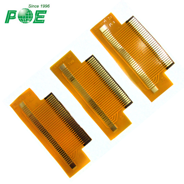 FPC flexible pcb fpc board with Immersion gold finish for