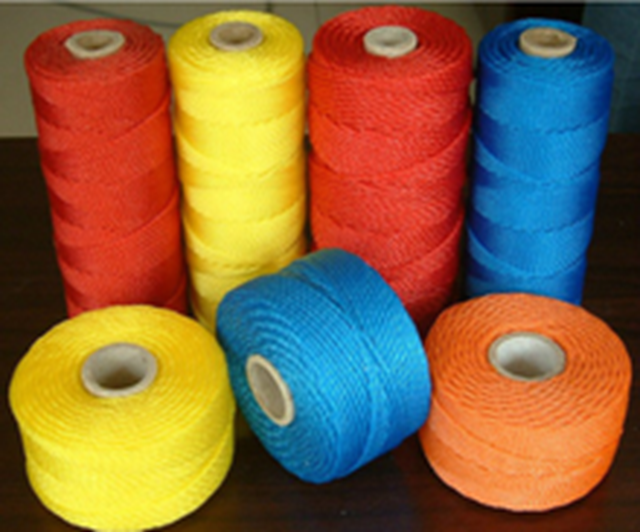 600D/15ply twisted hard lay UV treated PE twine for sale