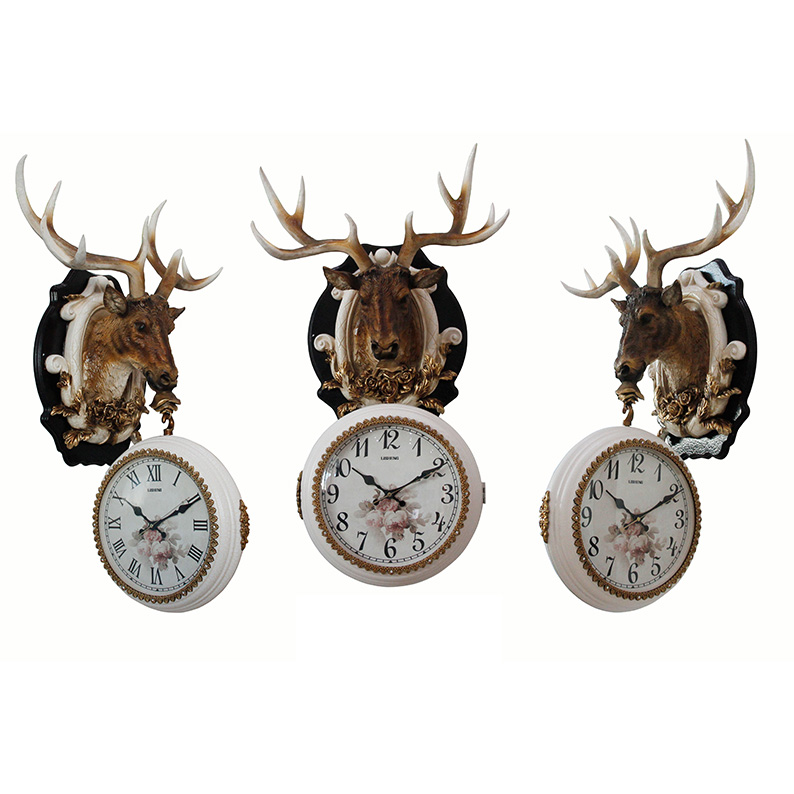 Hotel lobby & home resin deer animal head wall hanging decoration  for sale