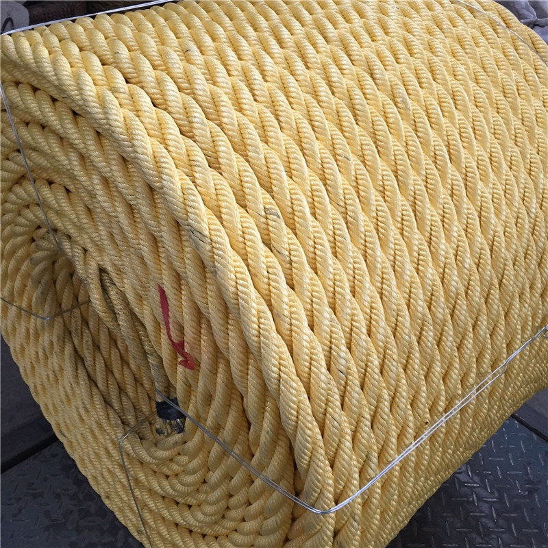 28mm Mooring Rope With Steel Inside Combination Trawling Rope for sale
