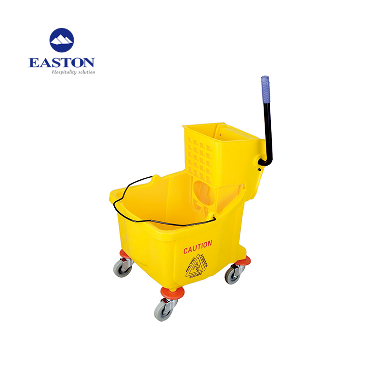 Housekeeping cart cleaning trolleys hotel ,36L plastic hotel supplies housekeeping cleaning cart sale