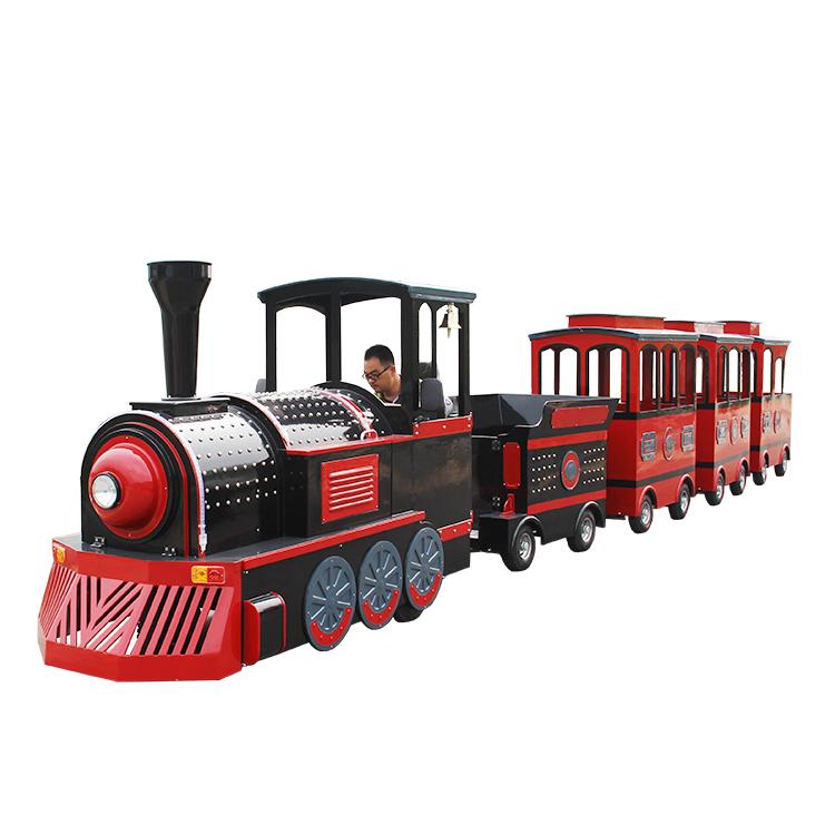 Children Park Tourist Electric Trackless Thomas Train Amusement Rides for sale