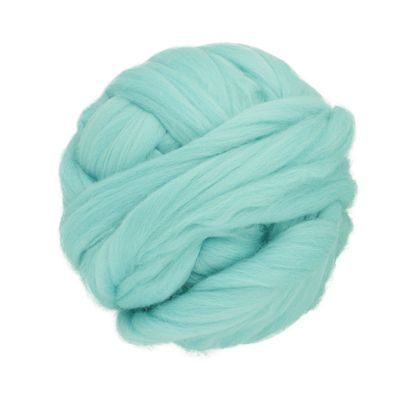Wholesale Eco-friendly dyed bulky 100% merino wool fiber for sale