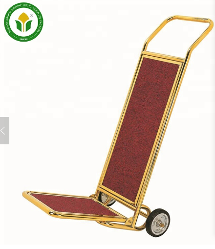 Luxury portable hotel lobby service luggage cart for sale