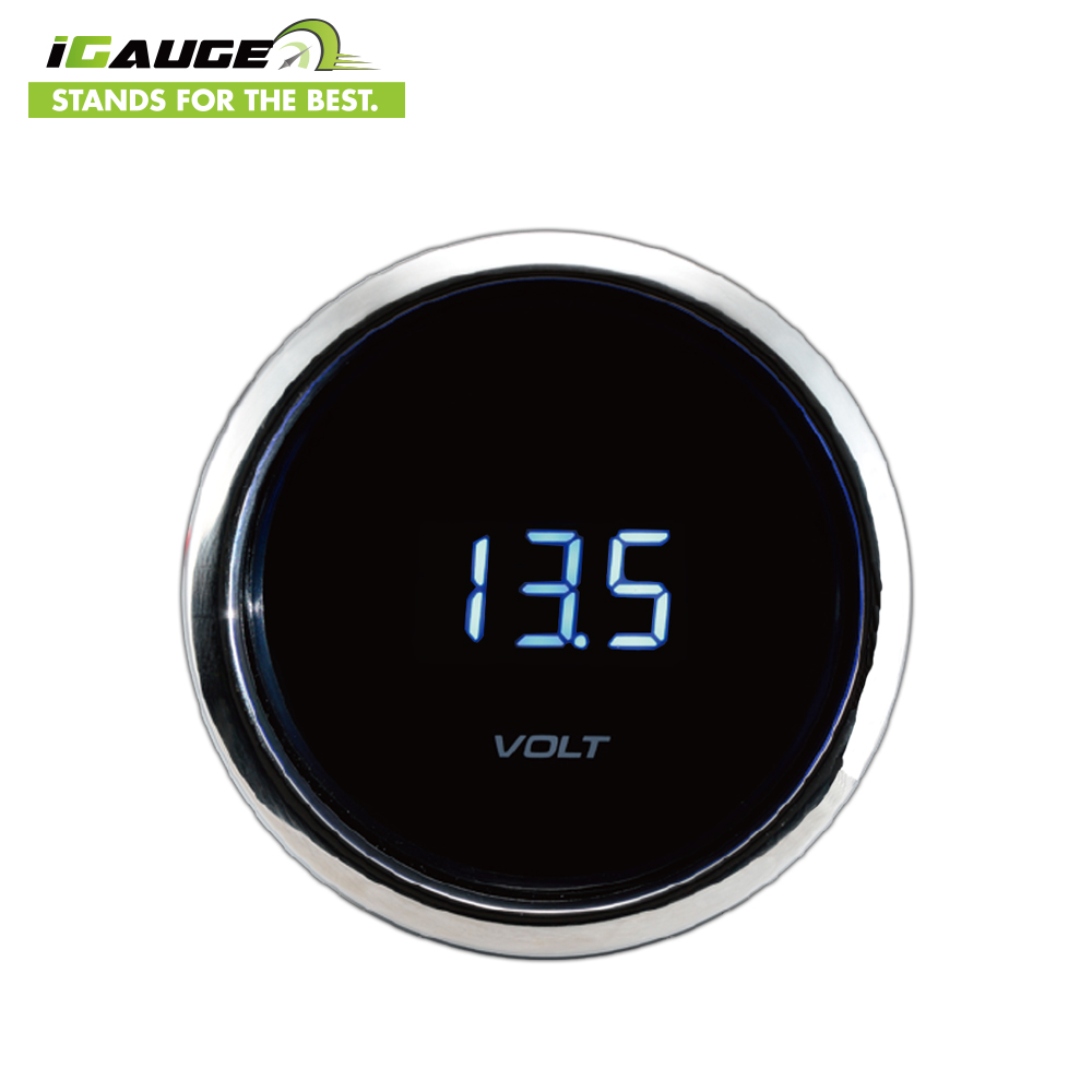 2018 New Customize Digital Meter Volt Gauge for Marine for sale