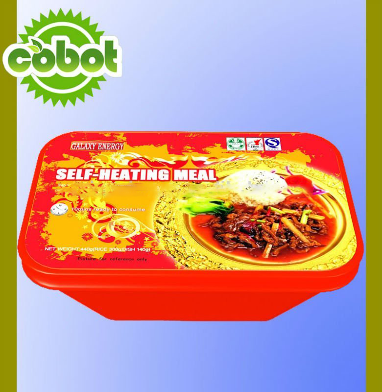 Linghang Best Sale HALAL Self-heating Instant Rice, precooked isntant rice for sale