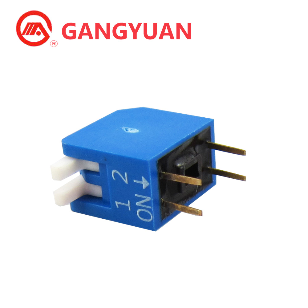 2.54mm 2 Positon Piano DPL Series DIP switch for sell