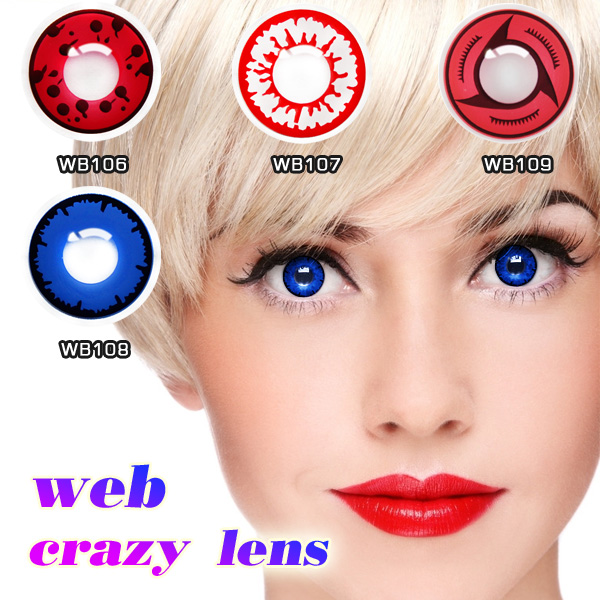 SFDA Production Approval Big Eyes Circle crazy Contact Lenses for sale