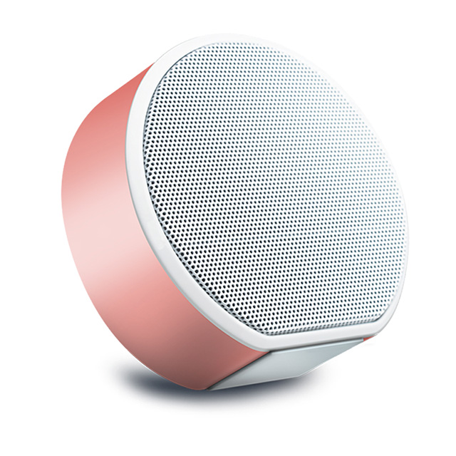 Private custom BT 4.2 wireless true stereo round shape small wireless speaker for sale