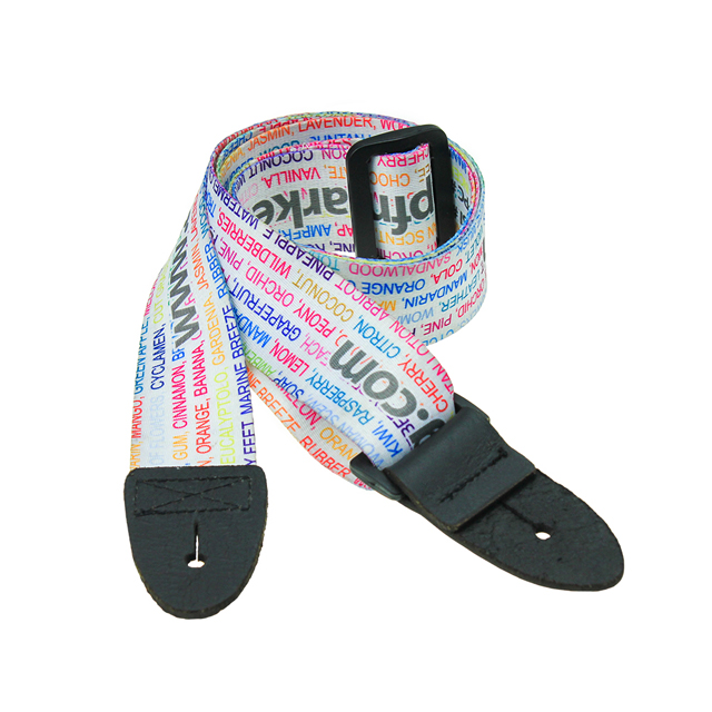 2018 High quality and popular polyester embroidered guitar strap for sale
