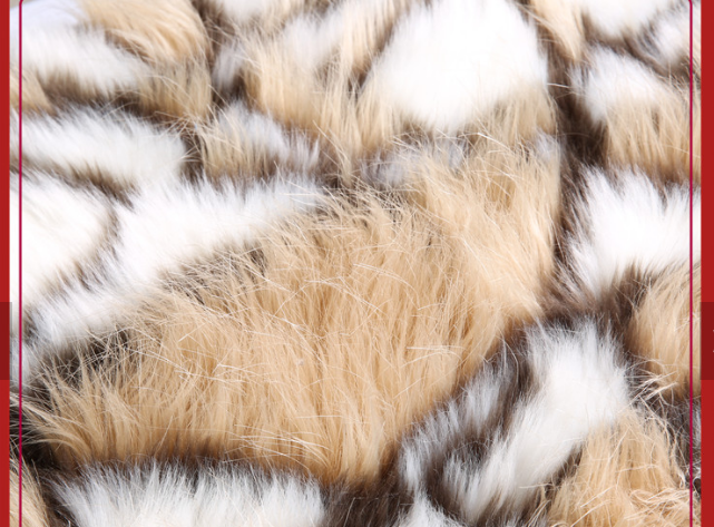 Manufacturer Polyester faux fur fabric plush for sale