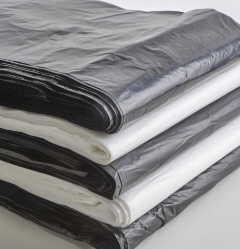Hot Sal Black Garbage Bag used in shopping mall for sale
