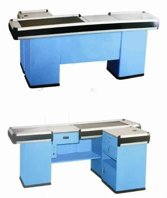 RH-CE003 Checkout Counter With Conveyor Belt sale
