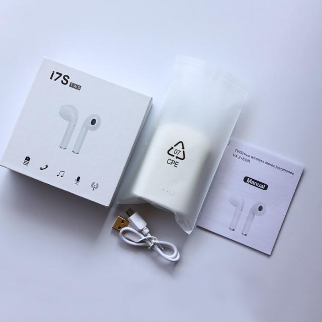 i7/i7s tws /i8//i9/i9s earphone Mini TWS In Ear BT Earphone , wireless Headphone hifi Twins True Wireless Earbuds