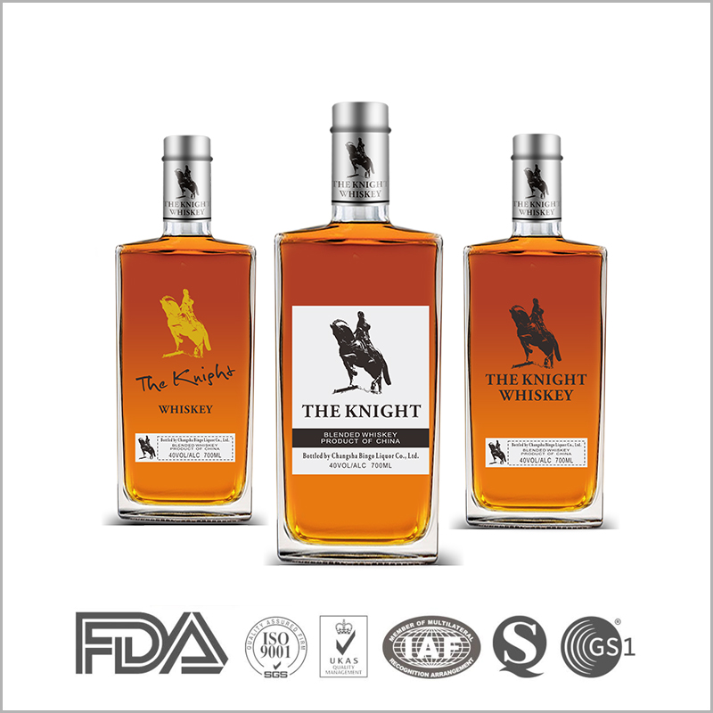 Fancy blended corn whisky 750ml or 700ml for sale
