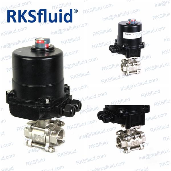 Ball valve oem stainless ball valve / SS ball valve actuator