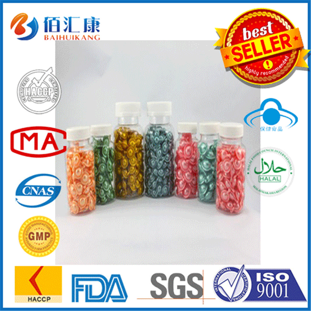 Baihuikang best skin care facial essence serum capsules for sale