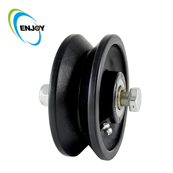 ENJOY Industrial Hard Plastic Rail V Groove Roller Wheel Sale