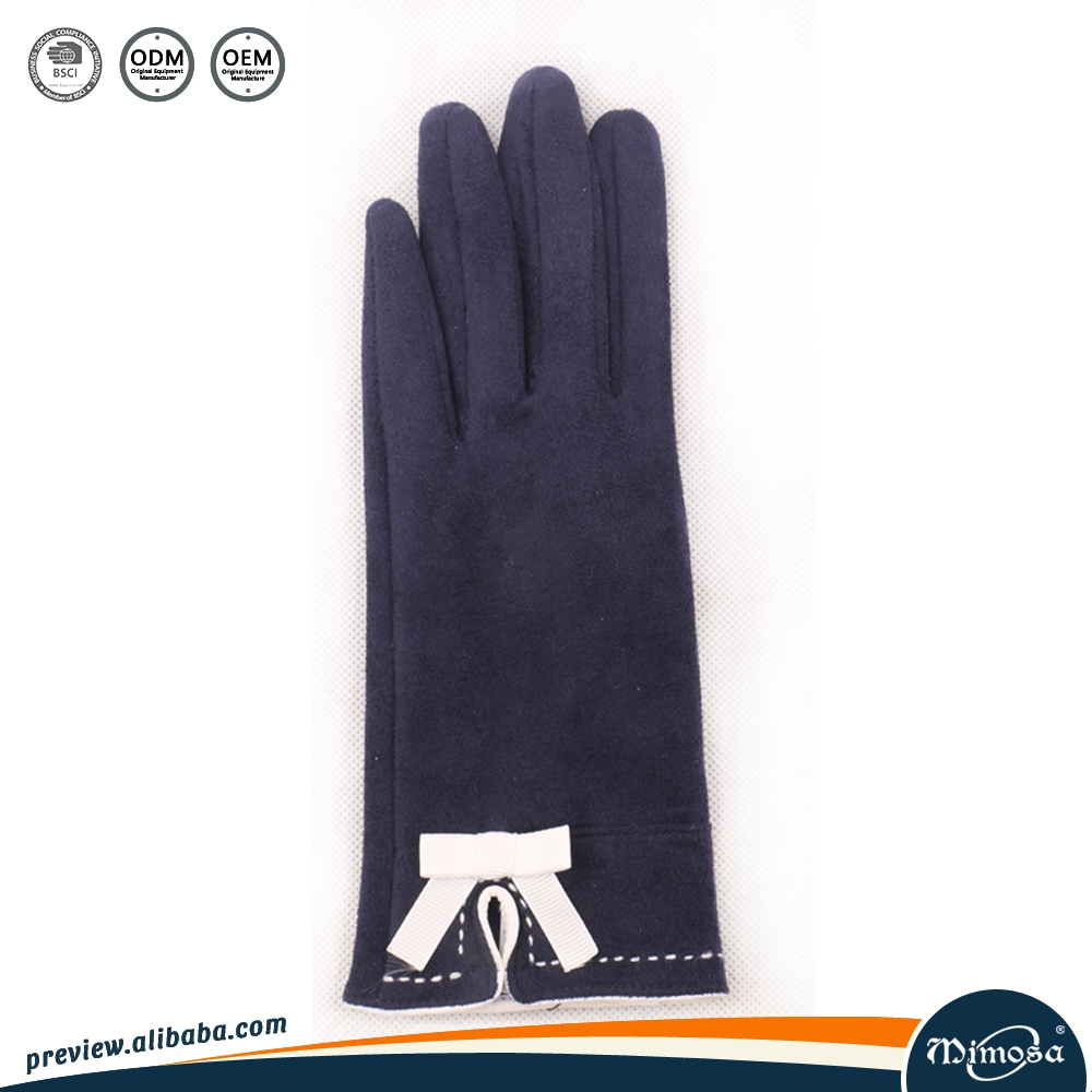 Thicken Faux Suede Gloves