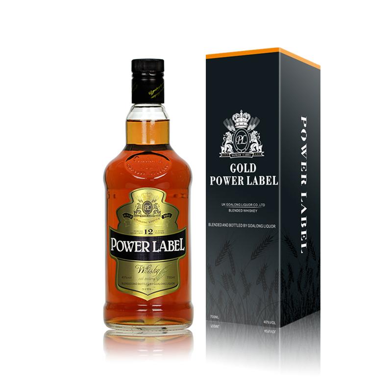 Goalong Distilled Blended Whisky flavor supplier Liquor Exporter for whisky distributor for sale