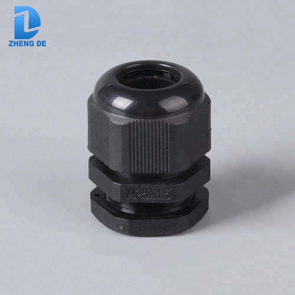 Flexible IP68 waterproof plastic nylon 66 cable gland for sell
